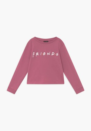 WARNER BROS FRIENDS GIRLS LICENSE - Longsleeve - very berry