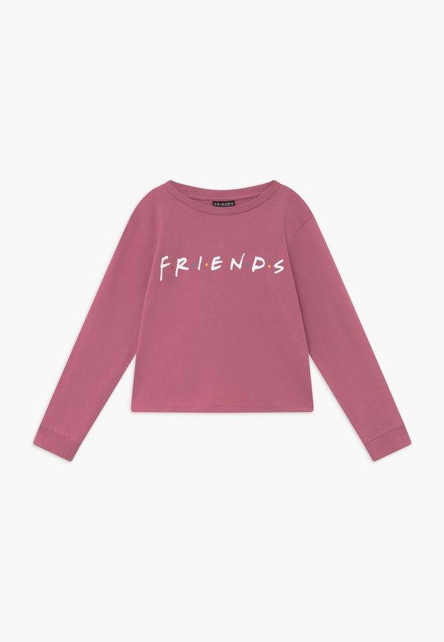WARNER BROS FRIENDS GIRLS LICENSE - Langærmede T-shirts - very berry