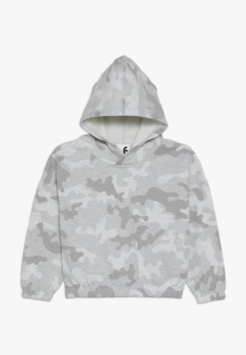 Cotton On - SUVI CROP HOODIE - Kapuzenpullover - summer grey marle