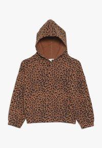 Cotton On - SUVI CROP HOODIE - Hoodie - amber brown - 0