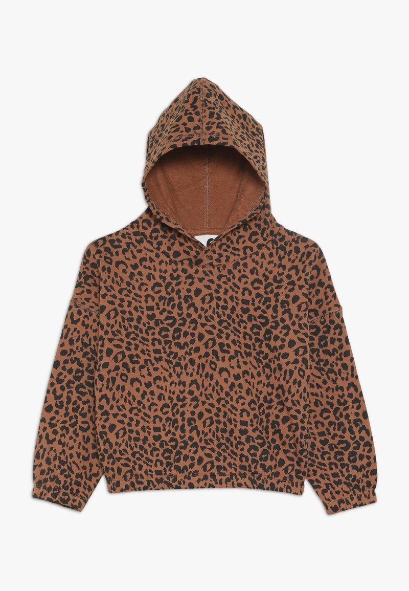 Cotton On - SUVI CROP HOODIE - Hoodie - amber brown