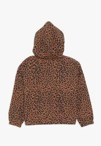 Cotton On - SUVI CROP HOODIE - Hoodie - amber brown - 1