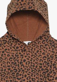 Cotton On - SUVI CROP HOODIE - Hoodie - amber brown - 4