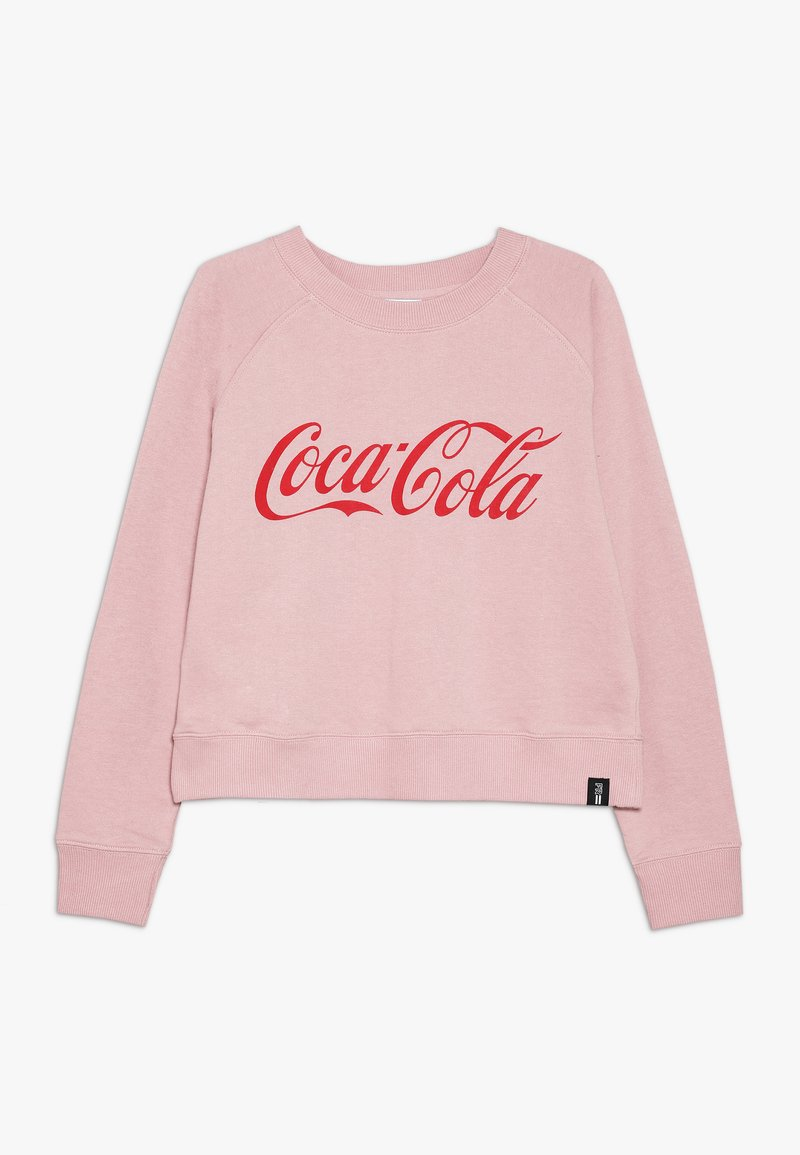 Cotton On - GIRLS COKE BOXY CREW - Sweatshirt - dusty rose