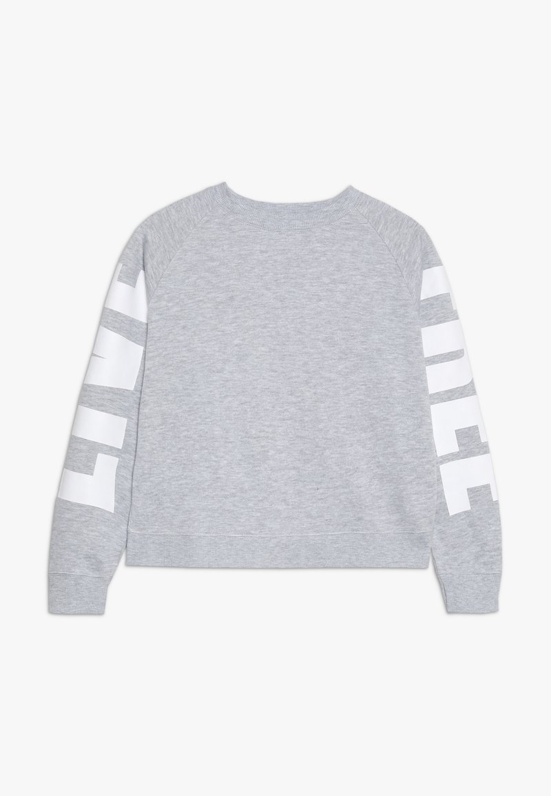 Cotton On - BOXY CREW NECK JUMPER - Collegepaita - soft grey marle/white