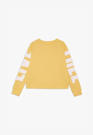 BOXY CREW NECK JUMPER - Sweatshirt - soft yellow/pink