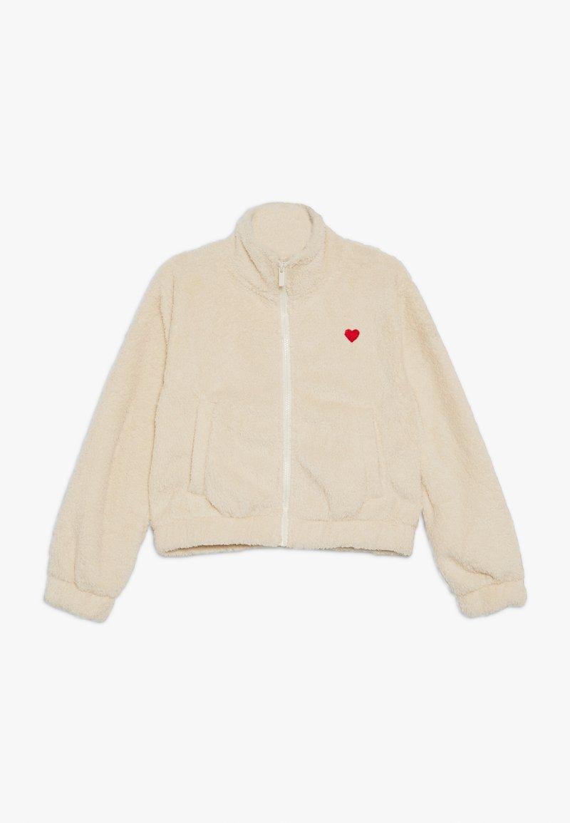 Cotton On - TEENS COZY TEDDYJACKET - Light jacket - vanilla
