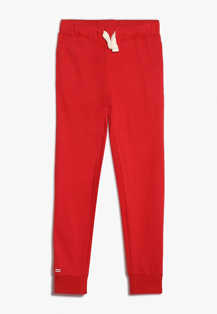 Cotton On - TEEN EQUALS TRACKPANT - Träningsbyxor - red