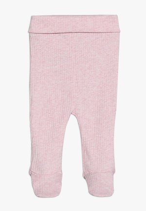 THE FOOTED BABY - Leggings - Hosen - pink marle