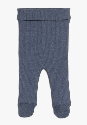 THE FOOTED BABY - Leggings - indian ink marle
