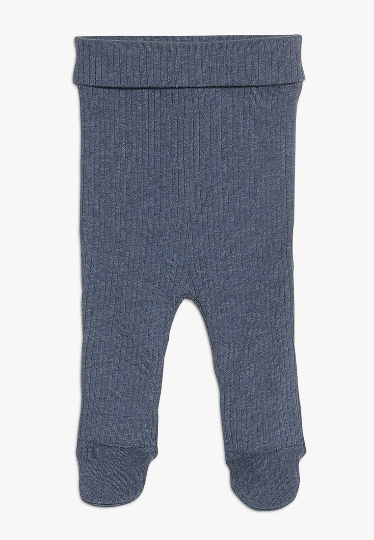 Cotton On - THE FOOTED BABY - Leggings - Trousers - indian ink marle