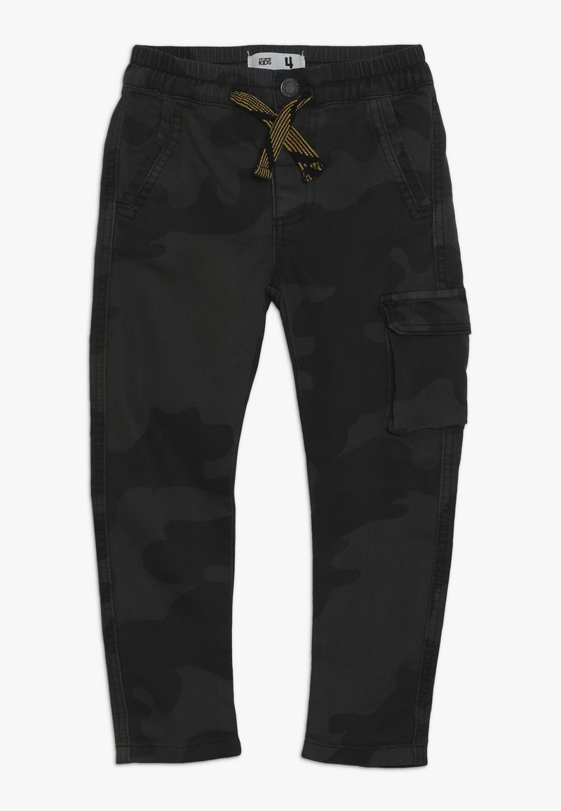 Cotton On - KIERAN PANT - Cargobukser - black
