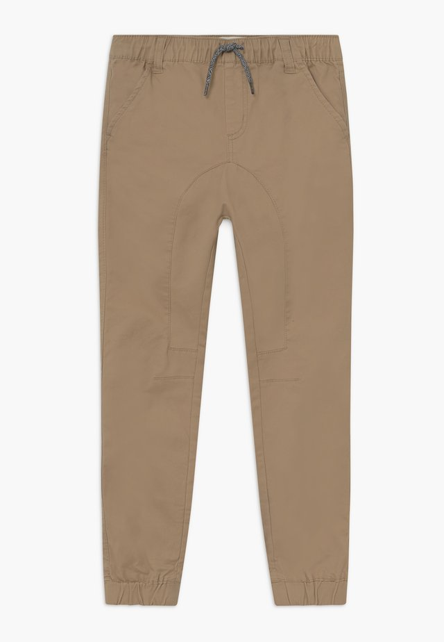 LOGAN CUFFED - Trousers - beige