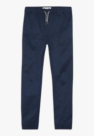 LOGAN CUFFED - Trousers - navy