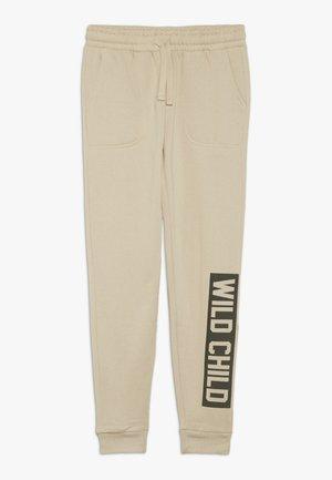 HERITAGE TRACKPANT - Pantaloni sportivi - semolina