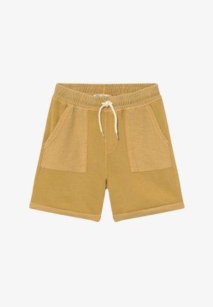 HENRY SLOUCH - Teplákové kalhoty - honey gold wash