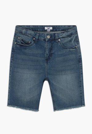 TEEN CLASSIC - Denim shorts - mid blue