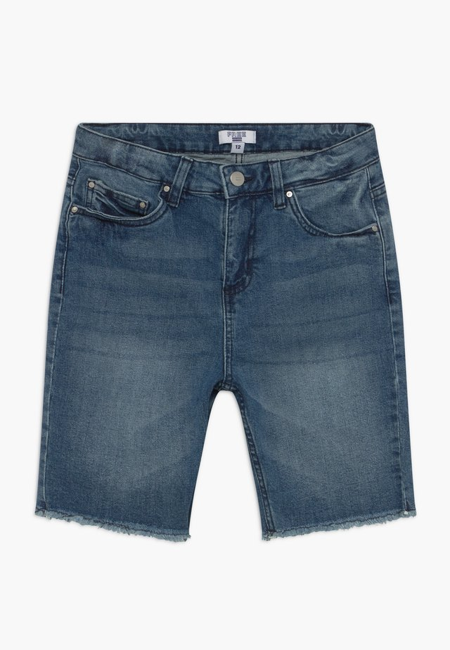 TEEN CLASSIC - Jeansshort - mid blue