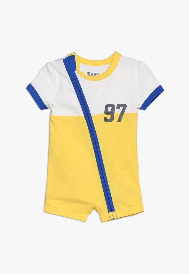 ZIP THROUGH ROMPER - Overall / Jumpsuit - yellow