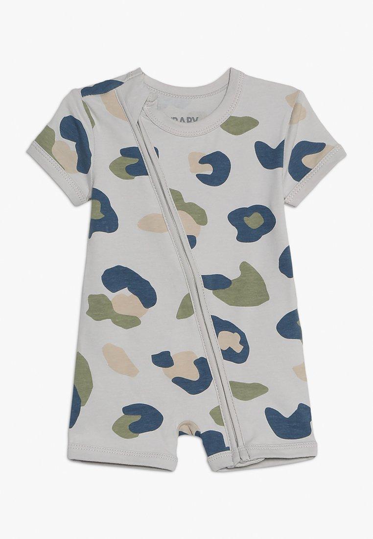 Cotton On - MINI ZIP THROUGH ROMPER BABY - Jumpsuit - winter grey