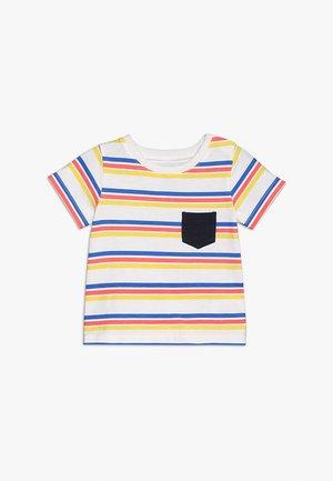 FREDDIE TEE - Print T-shirt - vanilla/retro