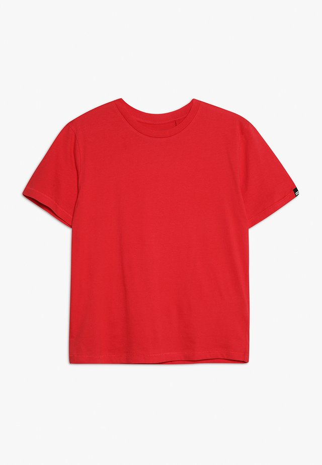 TEEN EQUALS TEE - T-Shirt basic - red