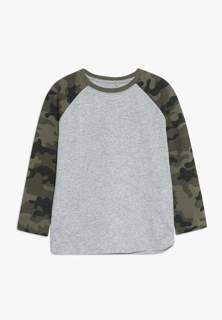 Cotton On - KIDS TOM LONG SLEEVE RAGLAN TEE - Longsleeve - mottled light grey