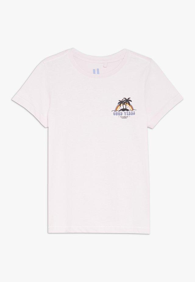 MAX SHORT SLEEVE TEE - Print T-shirt - lavender fog