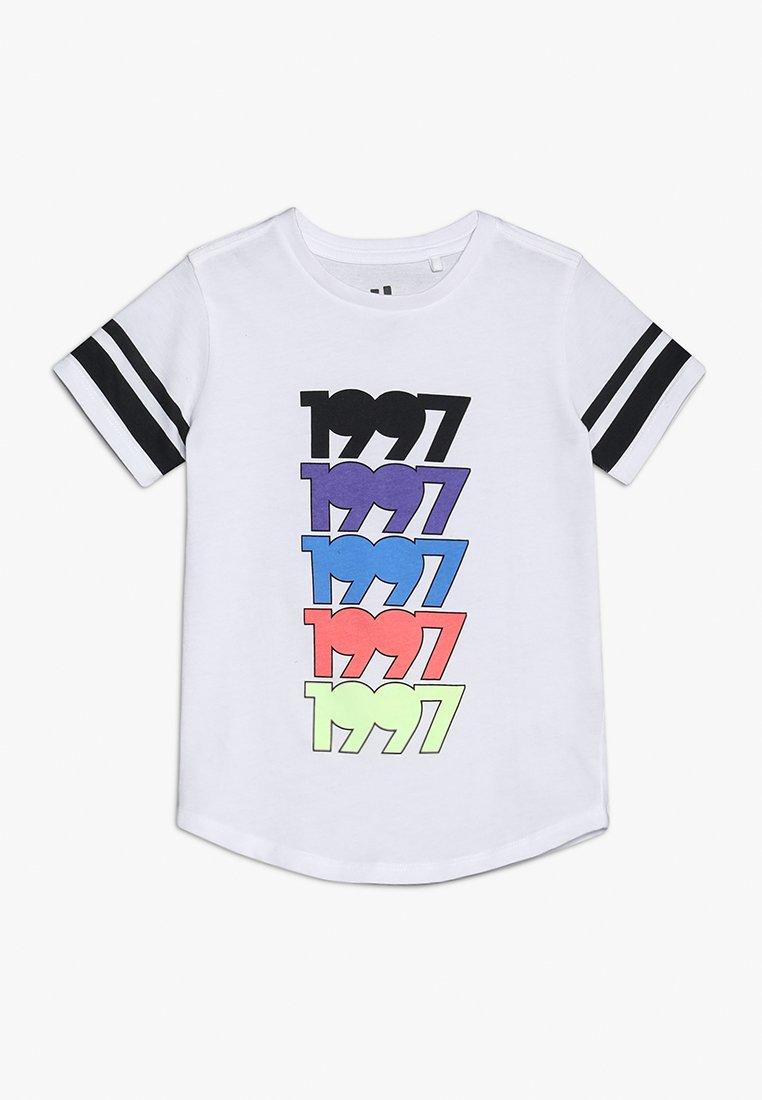 Cotton On - KIDS MAX LONG LINE TEE - T-Shirt print - white