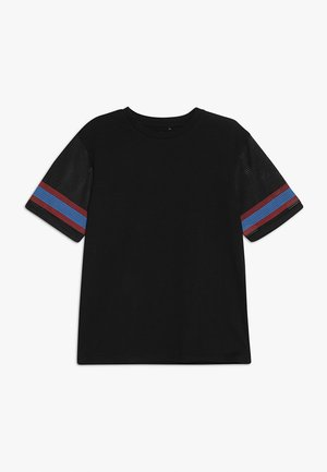 TEEN BOYS OVERSIZED BOXY TEE - T-shirts print - black/red