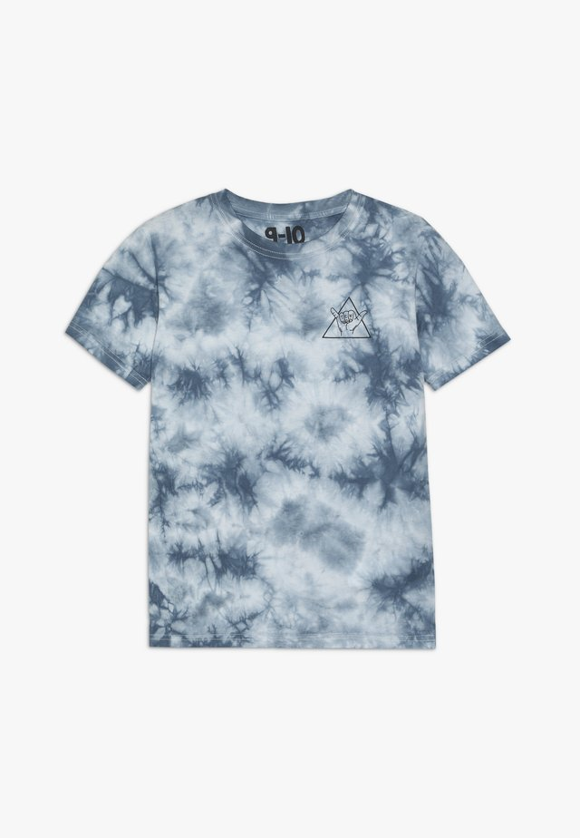 THE UPSIDE SHORT SLEEVE TEE - T-shirts print - white/blue