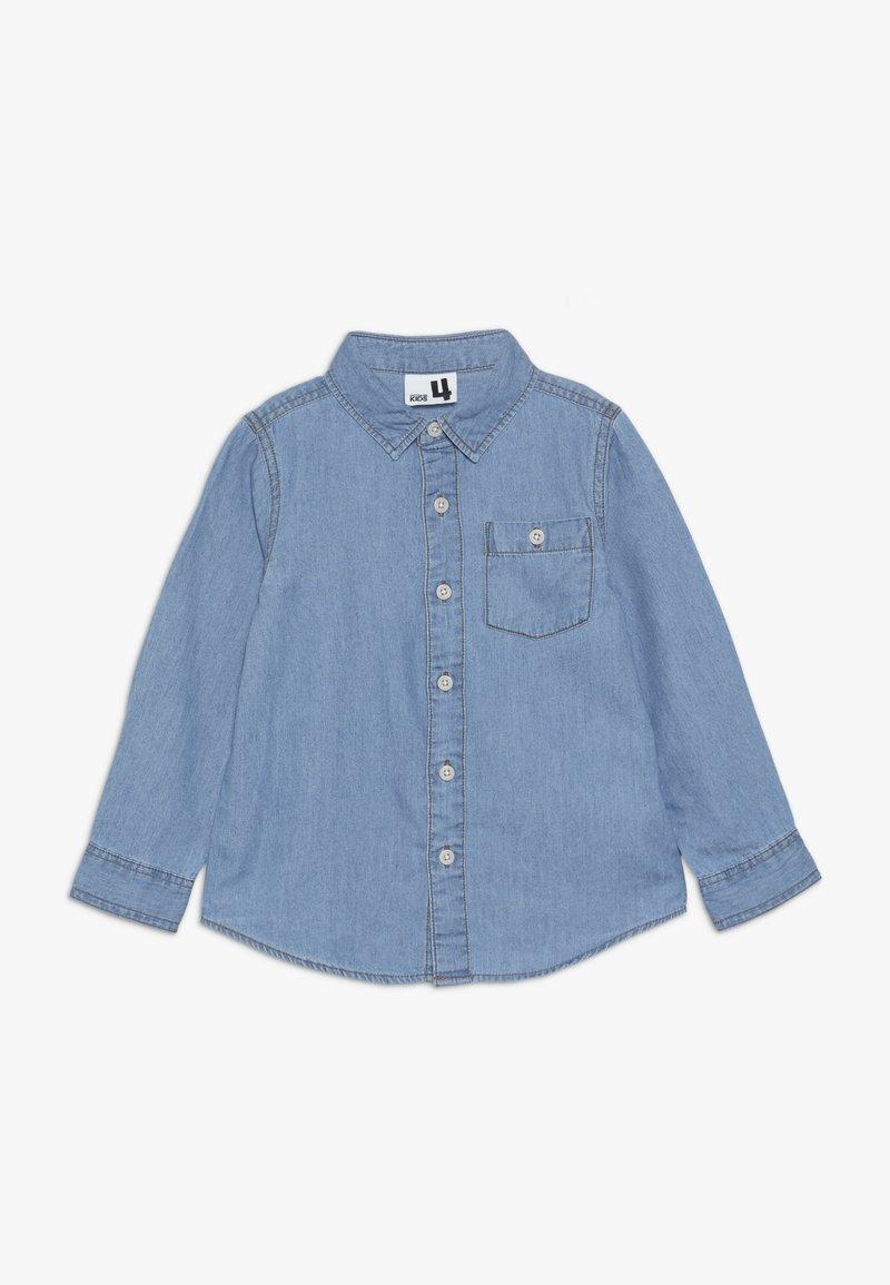 Cotton On - FAIRFAX LONG SLEEVE  - Camisa - mid denim wash