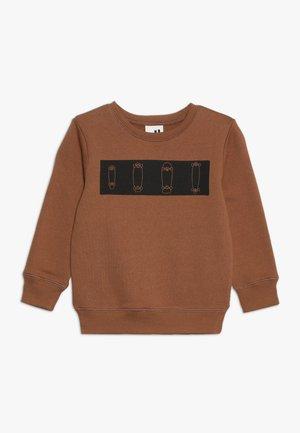 LACHY CREW JUMPER - Sweatshirt - burnt brown