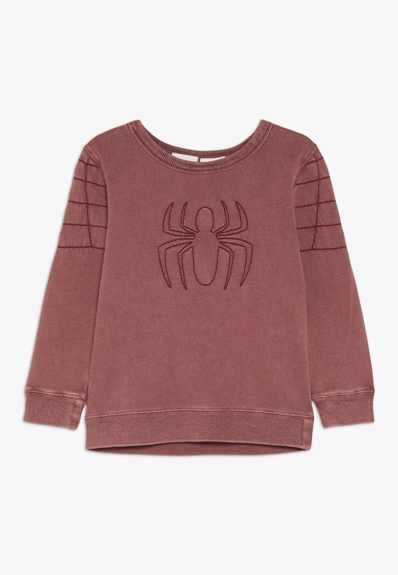 Cotton On - SPIDERMAN CREW - Sweatshirts - maroon