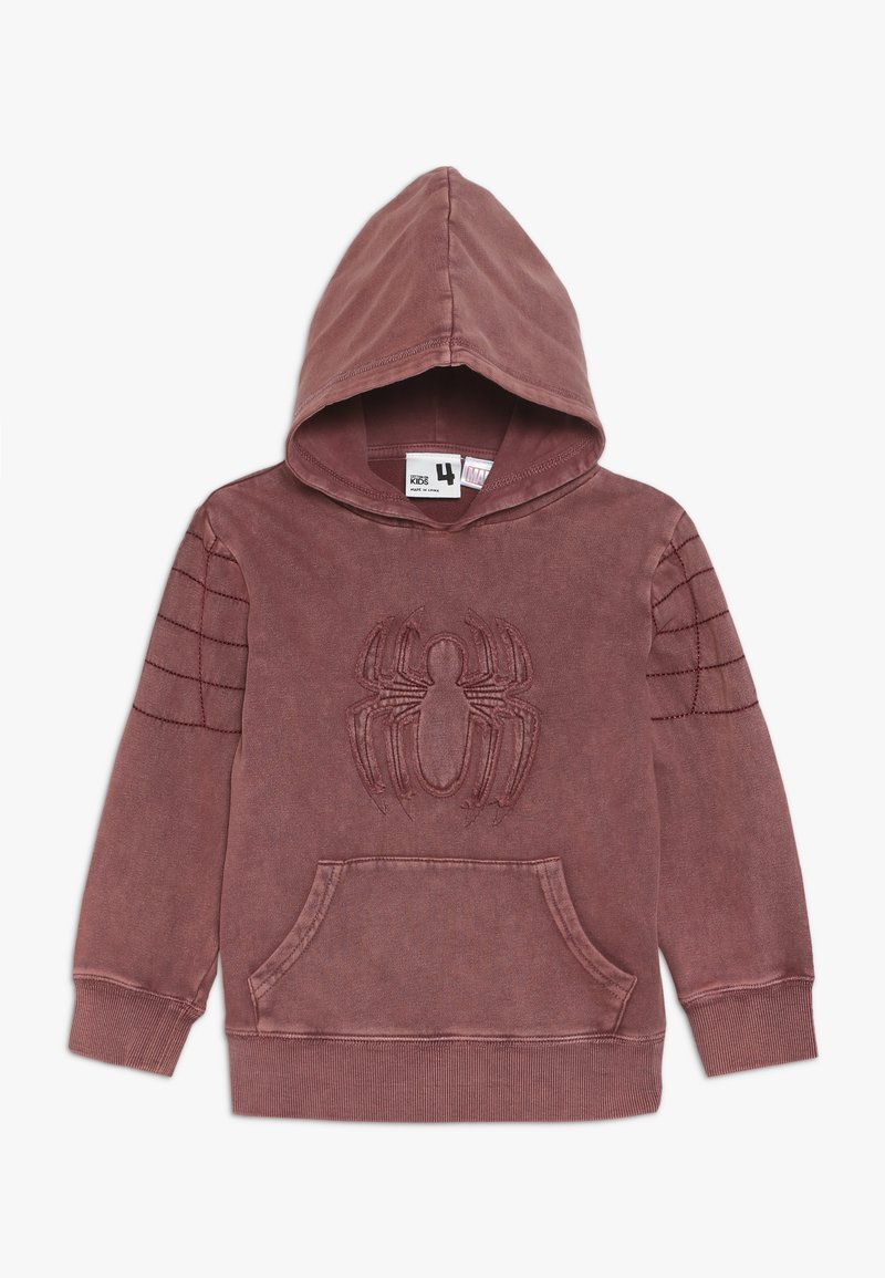 Cotton On - MARVEL SPIDERMAN HOODIE - Jersey con capucha - red