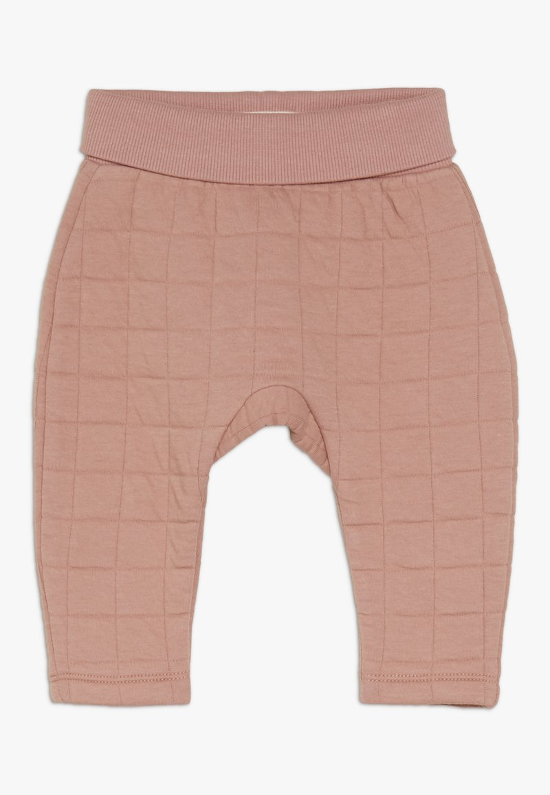 Cotton On - RORY TRACKPANT BABY - Trousers - cameo brown