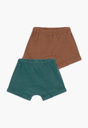 SAWYER 2 PACK - Broek - amber brown/aqua dream