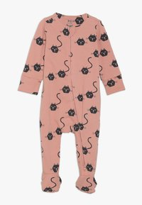Cotton On - THE LONG SLEEVE ZIP ROMPER BABY - Jumpsuit - cameo brown - 0