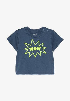 JAMIE SHORT SLEEVE TEE BABY - Print T-shirt - washed steel