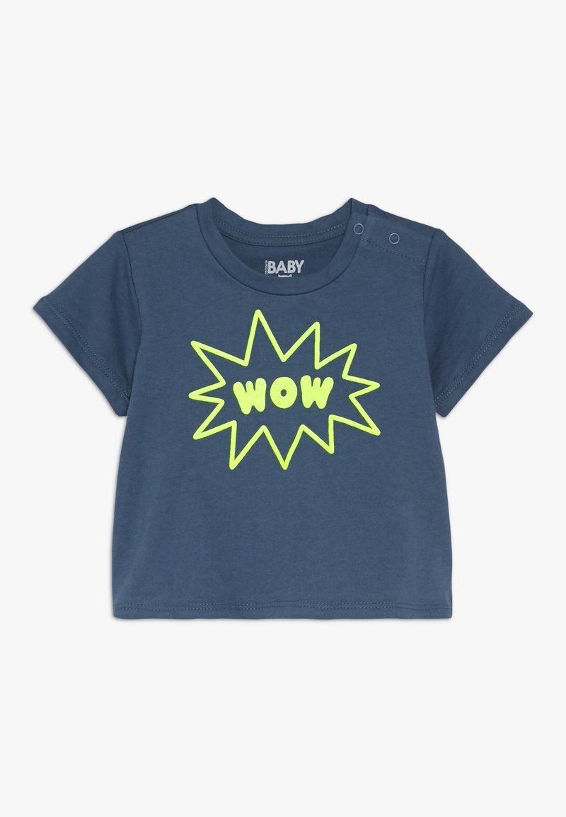 Cotton On - JAMIE SHORT SLEEVE TEE BABY - Print T-shirt - washed steel