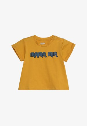 JAMIE SHORT SLEEVE TEE BABY - Triko spotiskem - yellow