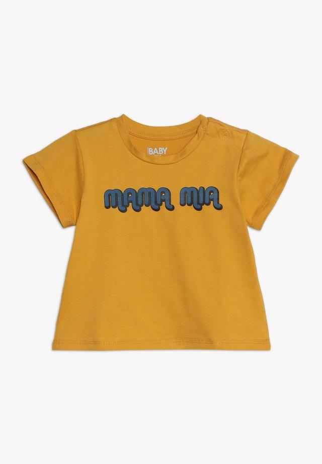 JAMIE SHORT SLEEVE TEE BABY - T-shirt print - yellow