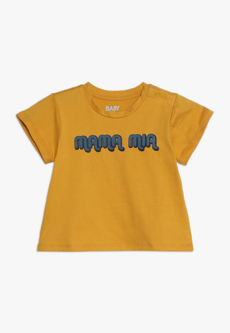 Cotton On - JAMIE SHORT SLEEVE TEE BABY - Triko s potiskem - yellow