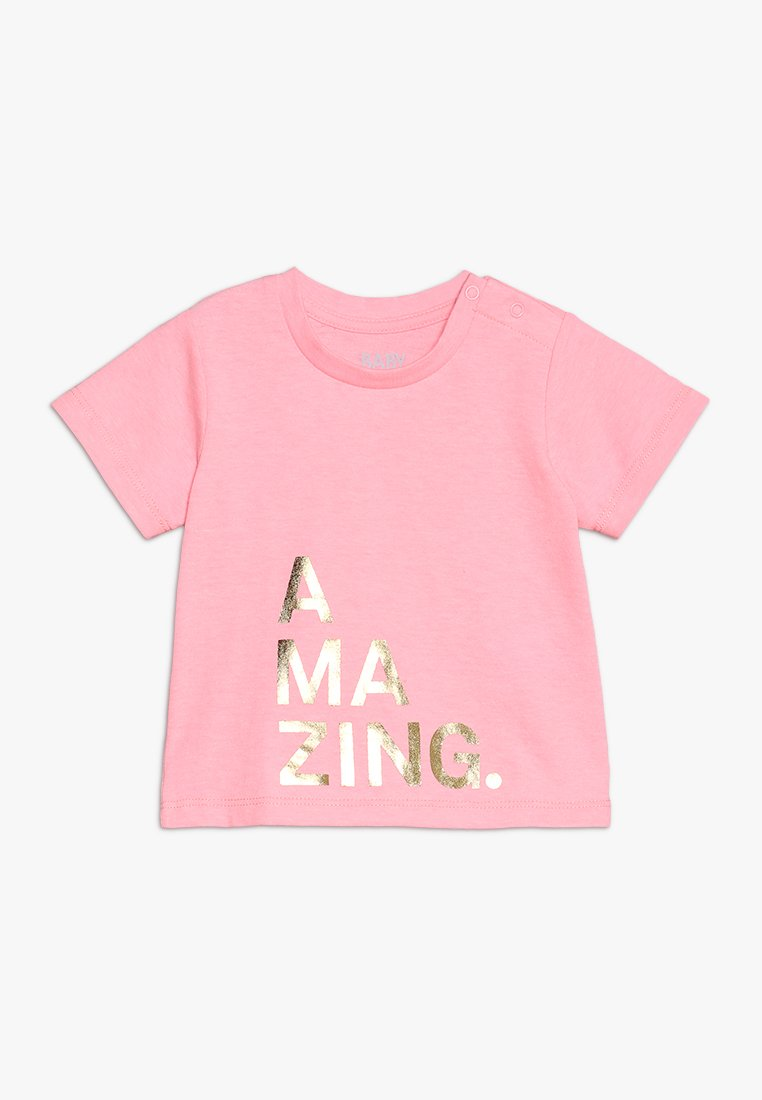 Cotton On - JAMIE SHORT SLEEVE TEE BABY - T-shirt print - rose