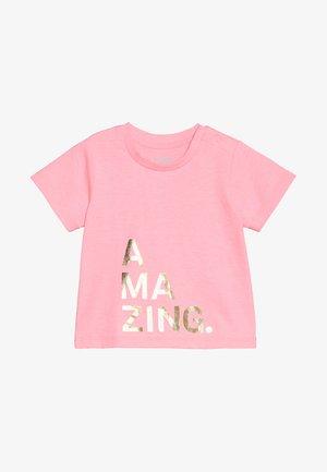 JAMIE SHORT SLEEVE TEE BABY - T-shirt con stampa - rose