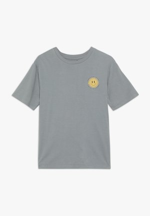 TEENS OVERSIZED TEE - Print T-shirt - steel grey