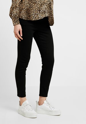 MID RISE MATERNITY GRAZER - Jeans Skinny Fit - black