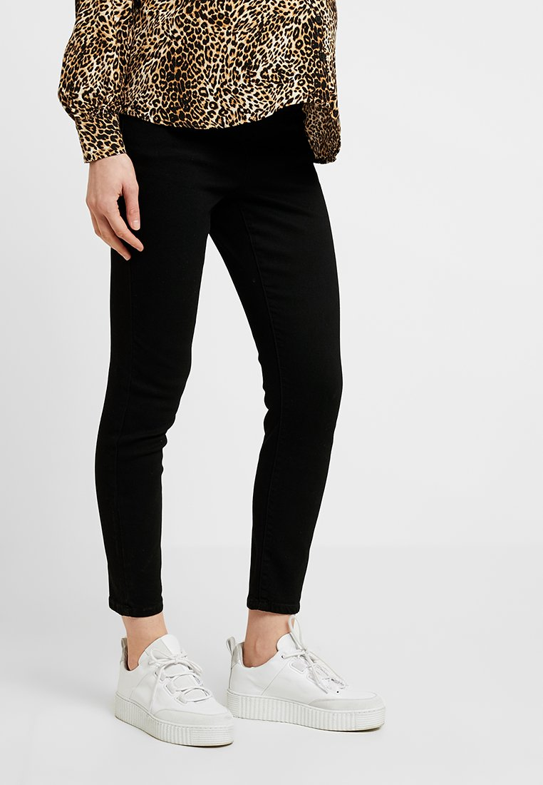 Cotton On - MID RISE MATERNITY GRAZER - Jeans Skinny Fit - black