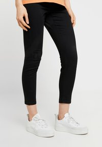 Cotton On - MID RISE MATERNITY  - Slim fit jeans - black - 0