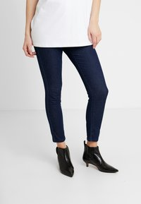 Cotton On - MID RISE MATERNITY - Jeggings - dark rinse - 0